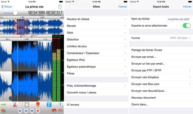 TwistedWave - audio editing application