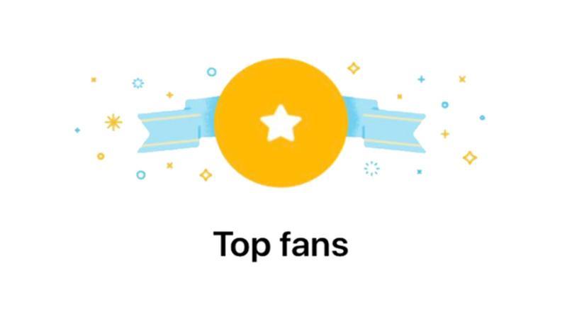 badge super fan facebook