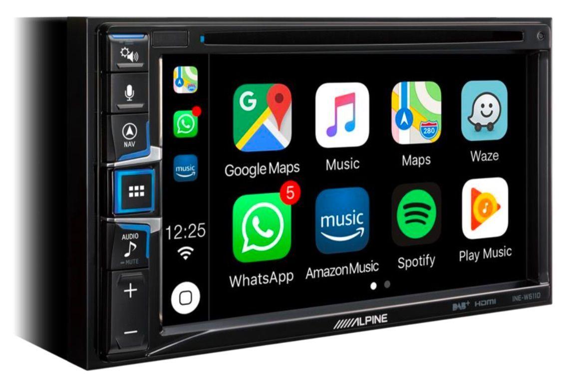 Alpine W611D: a new CarPlay compatible car radio