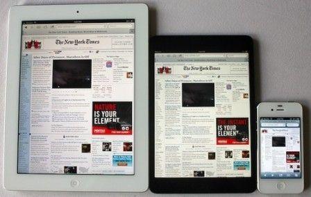 An iPad 5 and an iPad mini Retina for next March?