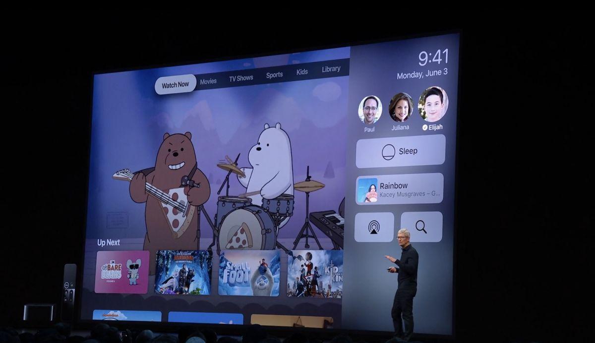 Apple presents tvOS 13: All the news