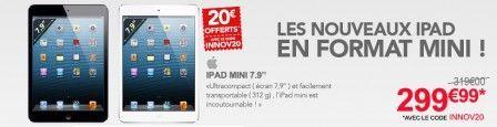 The good plan iPad mini at 299 euros