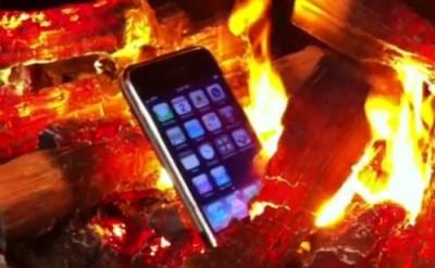 Rabbi Suggests Burning iPhone