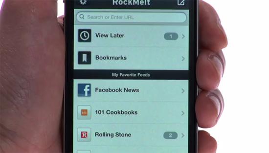 RockMelt: the social browser arrives on iOS
