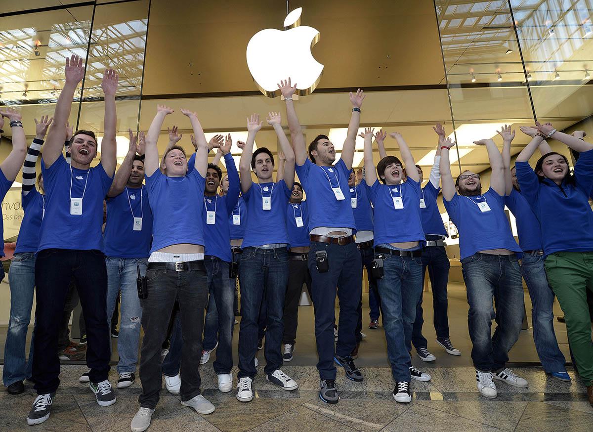 Fouille employés Apple