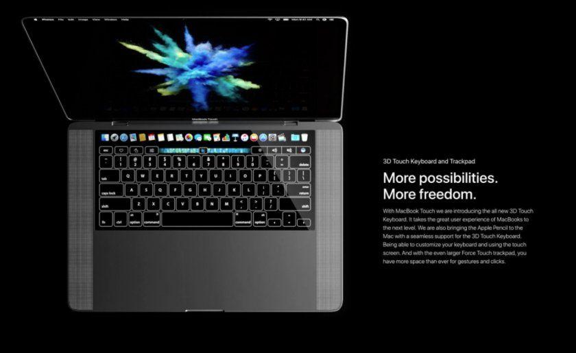 mac touch