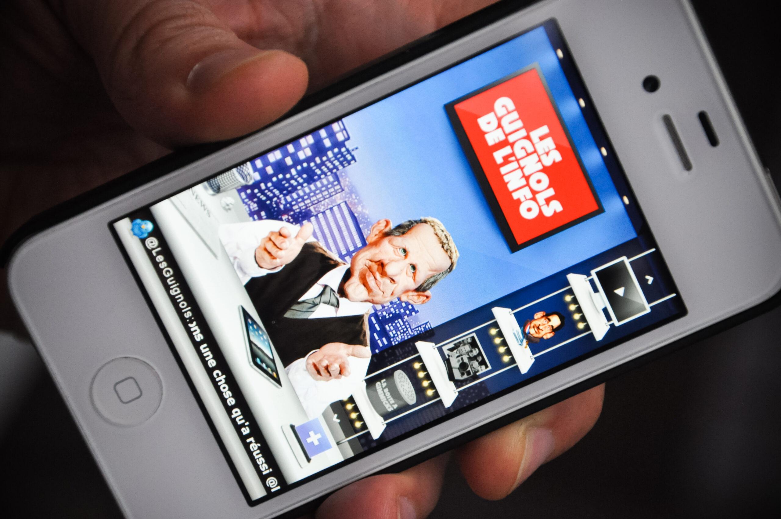 Guignols de l'Info arrives on the App Store