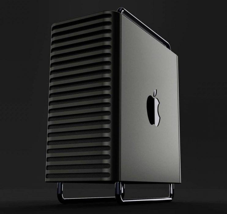 He already imagines the design of the future Mac Pro 2020