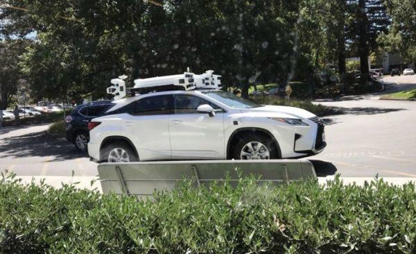 Apple autonomous vehicles