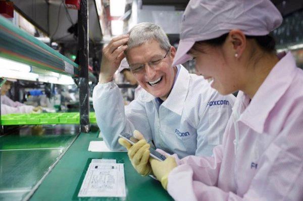 Foxconn - Apple suppliers