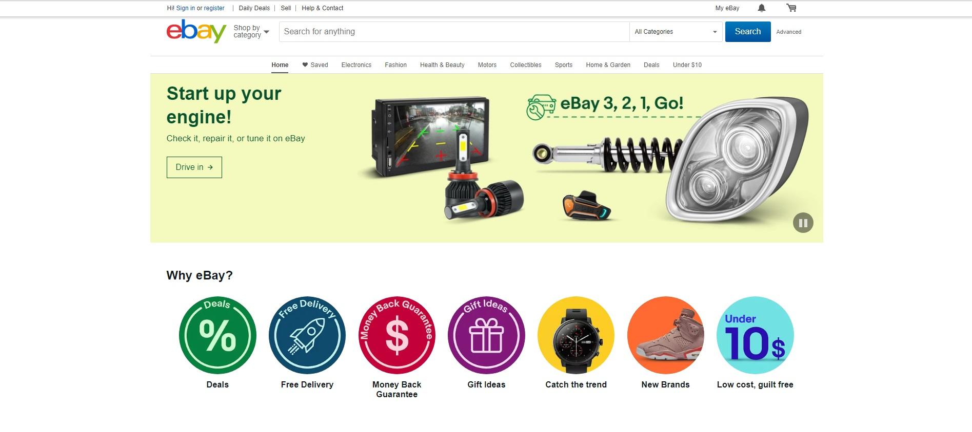 EBay Online Shopping Tips