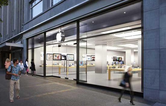 Eight twelve Apple Stores in Belgium?