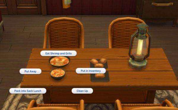Interactions between foods Mods 4 Mods