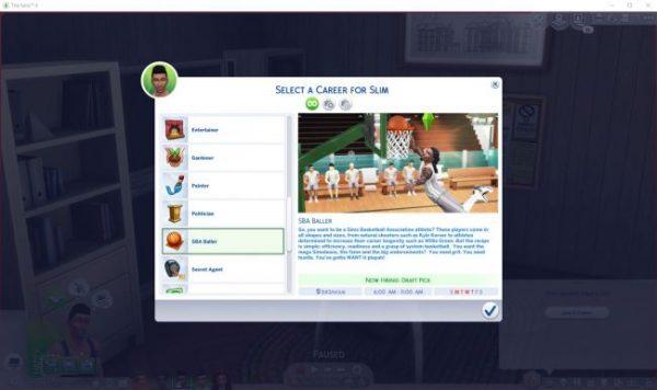 Sims 4 Mods Job