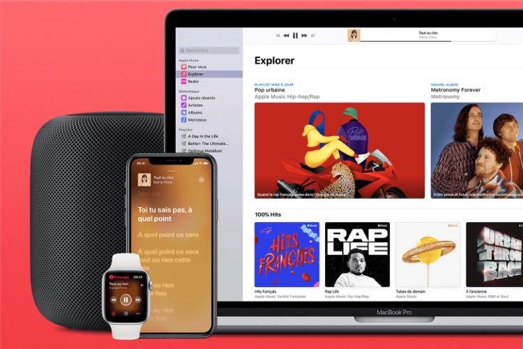 Spotify always higher than AppleMusic