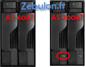 ASUSTOR NAS drawer comparison