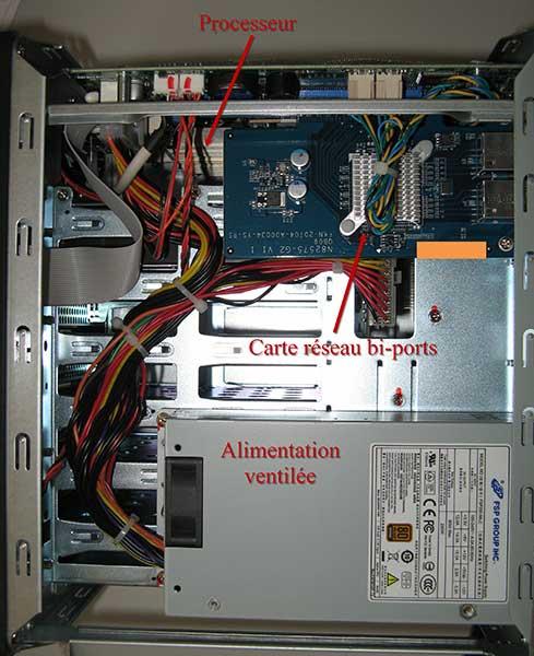 QNAP TS-670 interior