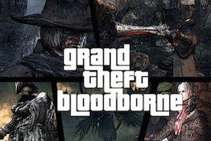Bloodborne turns into GTA using a glitch
