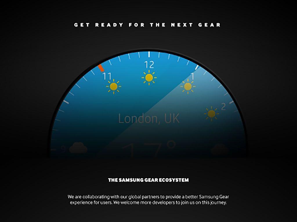 Samsung's next Gear smartwatch will be round