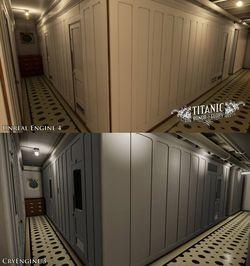 Titanic - Honor and Glory - comparison 2