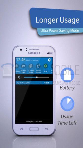 Samsung Galaxy J1: the essential has a price
