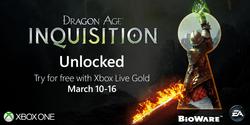Dragon Age Inquisition Free Xbox One