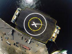 Space X ocean platform
