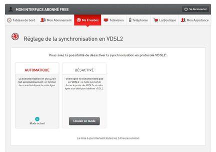 VDSL Freebox