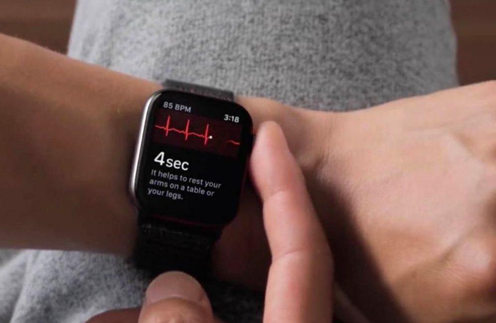 apple watch ecg comment faire Comment faire un ECG avec l'Apple Watch
