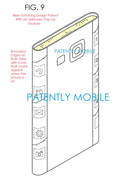 Samsung patent tranche screen