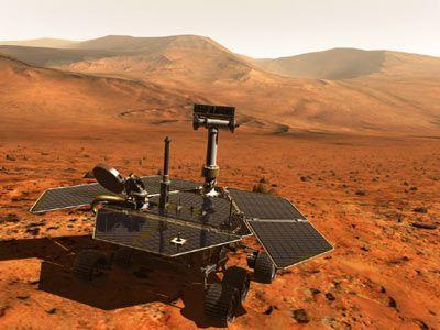 Mars Nasa Opportunity Probe