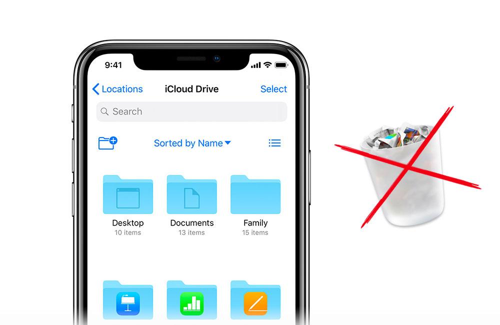 icloud supprimer fichiers Comment supprimer définitivement des fichiers iCloud Drive