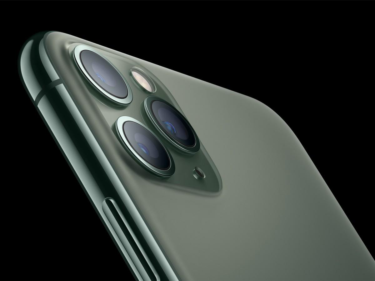iphone 11 pro green night camera