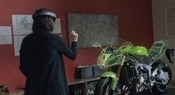 Micorsoft HoloLens concept