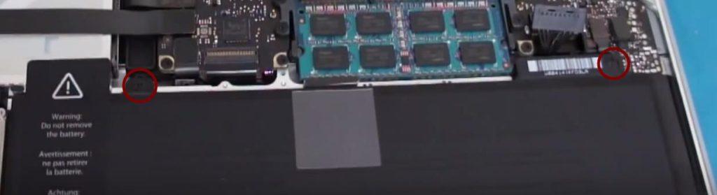 change battery macbook pro 4 1024x279 - Tutorial: change the battery of a Macbook Pro in 4 steps