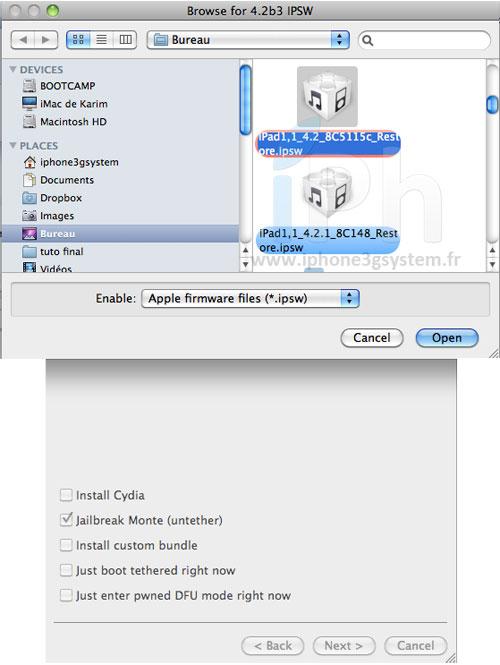 9 Jailbreak Untethered iOS 4.2.1 Tutorial with Redsn0w 0.9.7b1 [MAC]