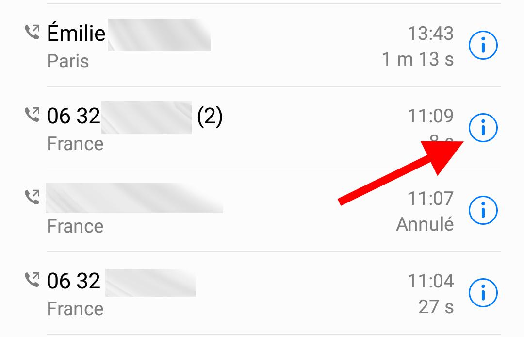 toggle a blacklist number