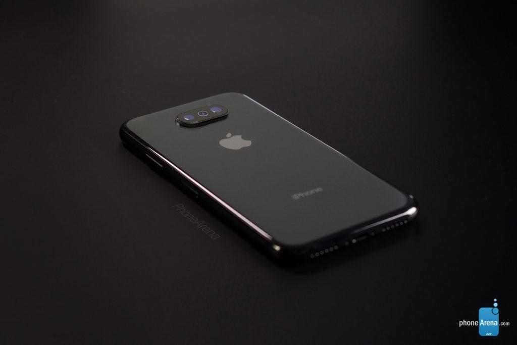 iPhone 11 XI dark 3D rendering iOS 13 7 1024x683 - iOS 13: a 3D rendering of the dark mode on the iPhone XI