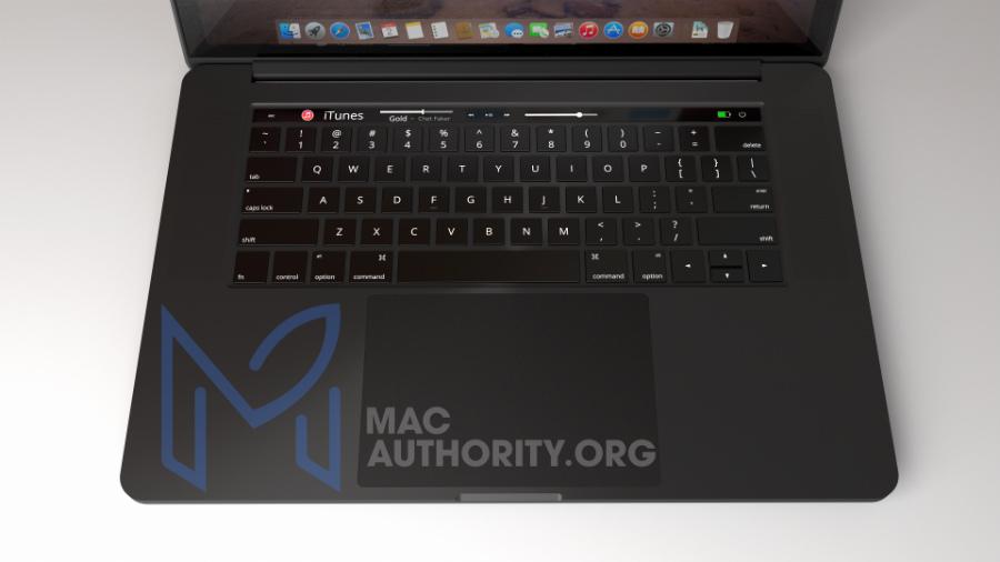 MacBook Pro 2016 black concept 3 - MacBook Pro 2016: a version in black (concept)?