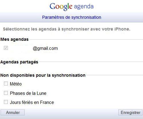 GCAL2 Tip: Synchronize the iOS calendar with Google Calendar