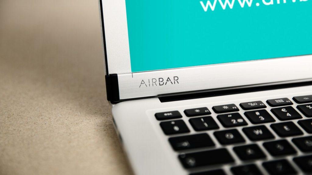 airbar macbook air 1024x576 - AirBar makes the MacBook Air screen touch!