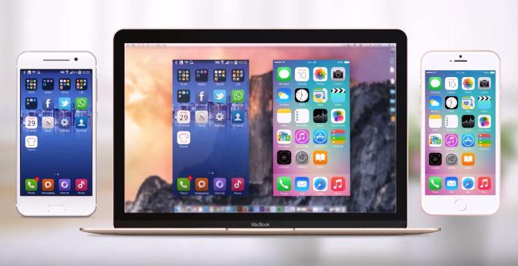 apowermirror - ApowerMirror: broadcast & record iPhone screen on Windows PC / Mac