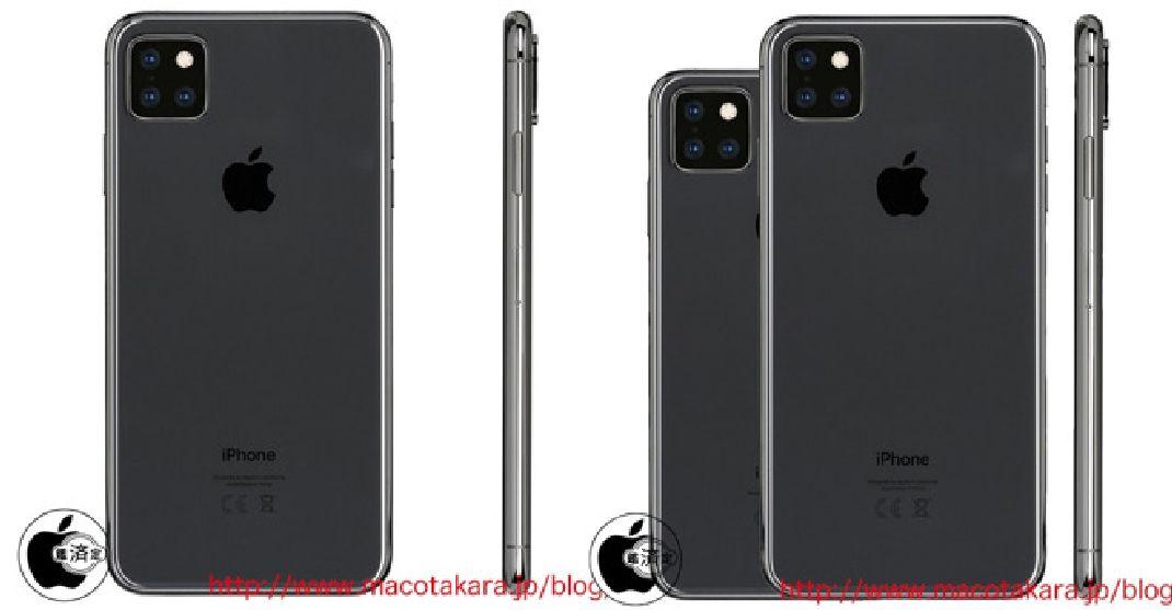 iphone 11 triple sensor - Apple: a square photo module with triple sensors for the iPhone XI?