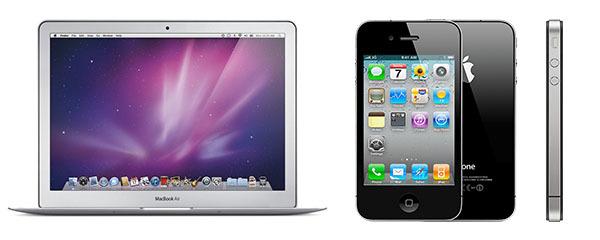 iphone 4 macbook air late 2010 - Apple: iPhone 4 & MacBook Air (late 2010) soon obsolete