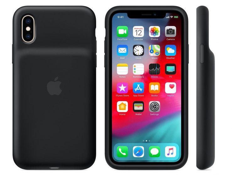 Official iPhone XS Smart Battery Case 739x559 - Apple launches its Smart Battery Case for iPhone XS, XS Max & XR