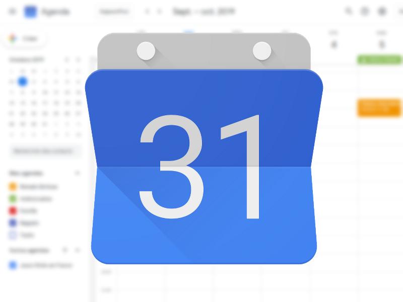 google agenda stop spam
