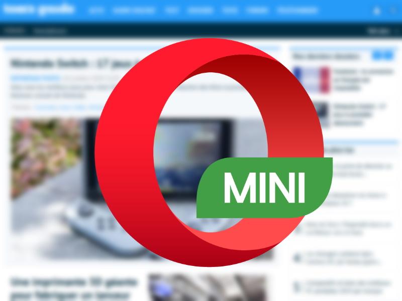 Opera Mini file sharing
