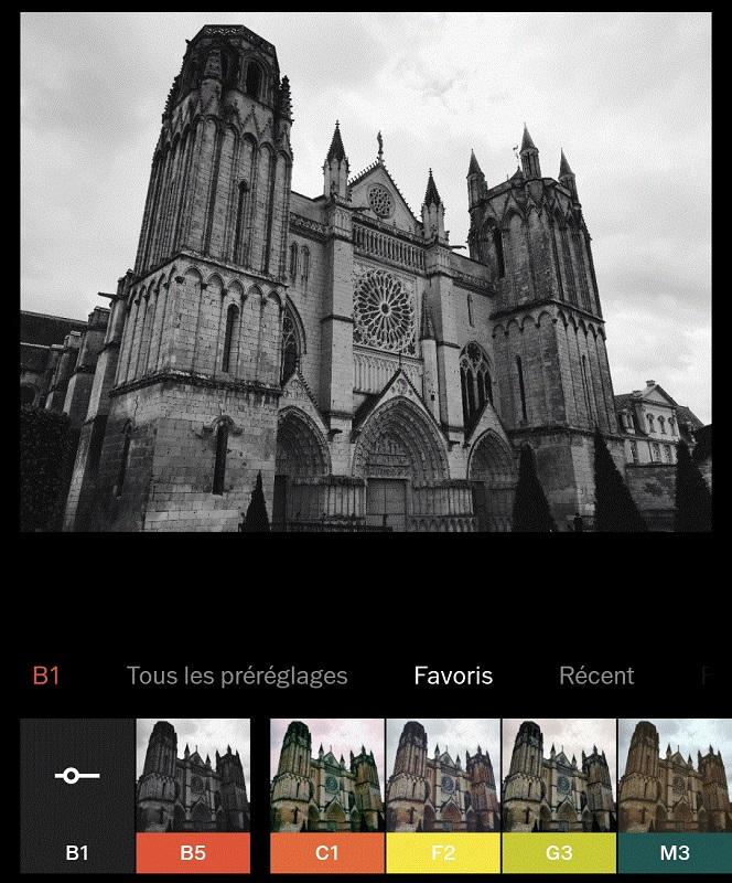 Instagram VSCO photo filters