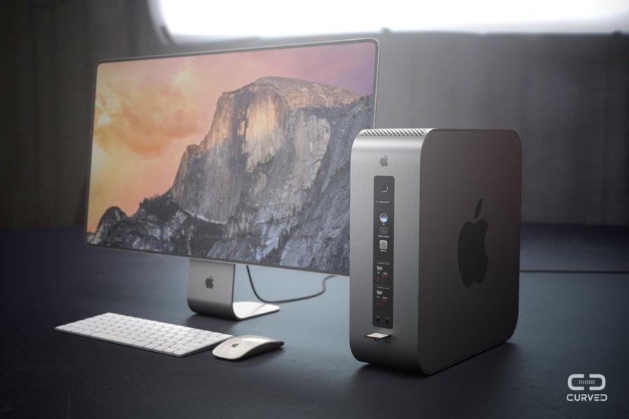 mac pro modular concept - Mac Pro: a futuristic concept imagines a modular Apple computer