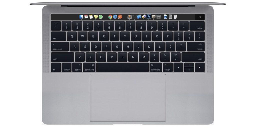 Macbook pro 2016 OLED bar concept siri 1024x512 - MacBook Pro 2016: a 5K screen and wireless charging?